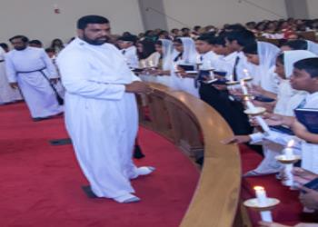 First Holy Communion service