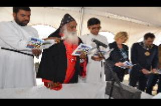 New church Cornerstone laying ceremony by His grace Joseph Mar Thoma