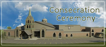 CONSECRATION CEREMONY